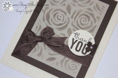 Stampin' Up! - Painted Petals 3 - Stamp With Amy K