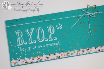 B.Y.O.P. 1 - Stamp With Amy K