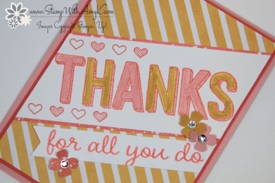 For Being You 3 - Stamp With Amy K