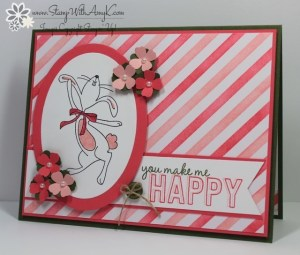 Happy Easter Bunny 1 - Stamp With Amy K