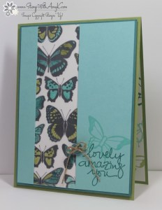 Lovely Amazing You 1 - Stamp With Amy K