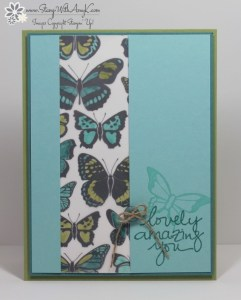 Lovely Amazing You 2 - Stamp With Amy K