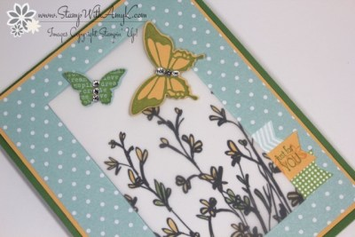 Nature's Perfection 3 - Stamp With Amy K