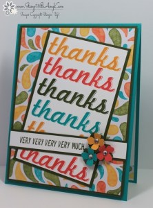 Fabulous Four 1 - Stamp With Amy K
