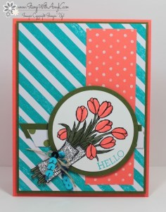 Love Is Kindness 2 - Stamp With Amy K