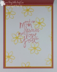 Mother's Love 5 - Stamp With Amy K