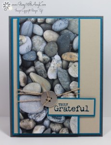 Truly Grateful 2 - Stamp With Amy K