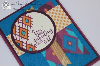Bohemain Borders 1 - Stamp With Amy K