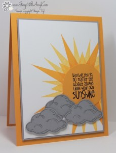 Ray of Sunshine 2 - Stamp With Amy K
