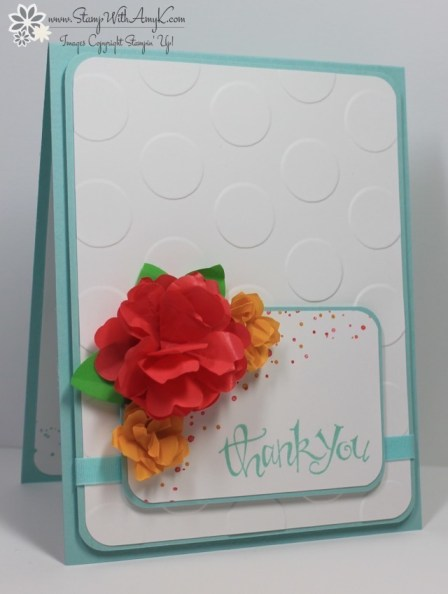 Stampin up sassy salutations with cotton paper flowers stamp sassy salutations stamp with amy k mightylinksfo