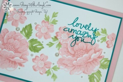 Stippled Blossoms 3 - Stamp With Amy K
