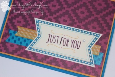 You're So Sweet 3 - Stamp With Amy K