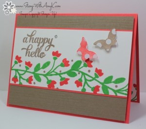 Bountiful Border 1 - Stamp With Amy K