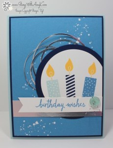 Build A Birthday 1 - Stamp With Amy K