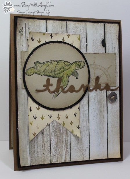 From Land to Sea - Stamp With Amy K