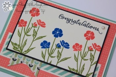 Wild About Flowers 3 - Stamp With Amy K