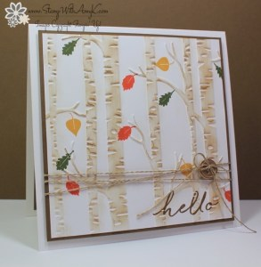 Among the Branches - Stamp With Amy K