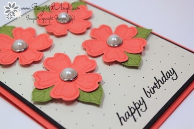 Birthday Blossoms 3 - Stamp With Amy K