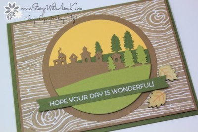 Cottage Greetings 3 - Stamp With Amy K