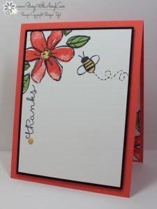Garden in Bloom 1 - Stamp With Amy K