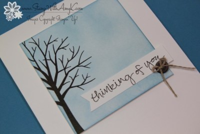 Sheltering Tree 3 - Stamp With Amy K