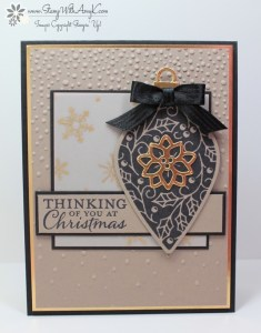 Embellished Ornaments 2 - Stamp With Amy K