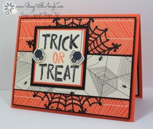 Howl-o-ween Treat 1 - Stamp With Amy K