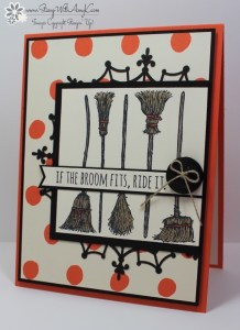 If The Broom Fits 1 - Stamp With Amy K