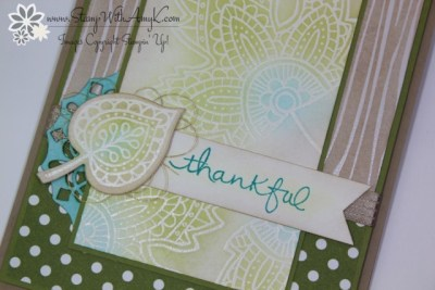 Lighthearted Leaves 3 - Stamp With Amy K