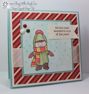 Christmas Cuties 1 - Stamp With Amy K
