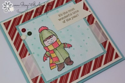 Christmas Cuties 3 - Stamp With Amy K