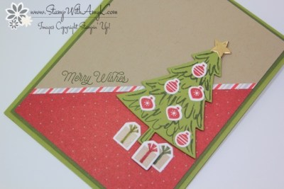 Peaceful Pines 3 - Stamp With Amy K
