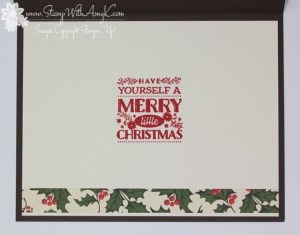 Cozy Christmas - Stamp With Amy K