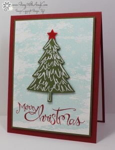 Peaceful Pines 1 - Stamp With Amy K