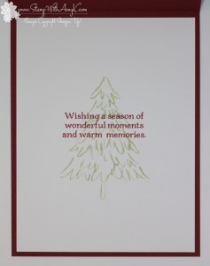 Peaceful Pines 4 - Stamp With Amy K