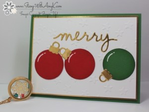 Christmas Greetings Thinlits Dies 1 - Stamp With Amy K