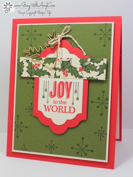 Jolly Christmas - Stamp With Amy K