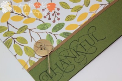 Six Sayings 3 - Stamp With Amy K