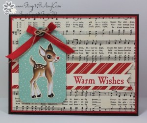 Winter Wishes 2 - Stamp With Amy K