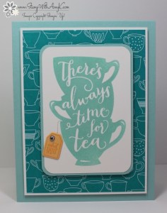 A Nice Cuppa 2 - Stamp With Amy K