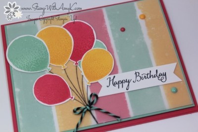 Balloon Celebration 3 - Stamp With Amy K