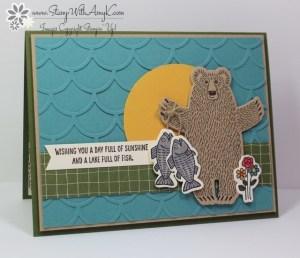 Bear Hugs 2 - Stamp With Amy K