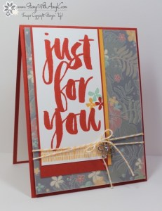 Botanicals for You 1 - Stamp With Amy K