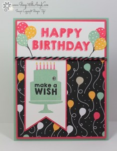 Party Wishes 2 - Stamp With Amy K