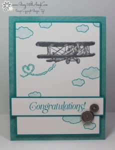 Sky Is The Limit 2 - Stamp With Amy K