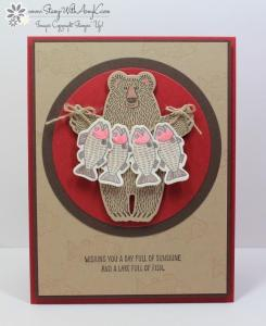 Bear Hugs 1 - Stamp With Amy K
