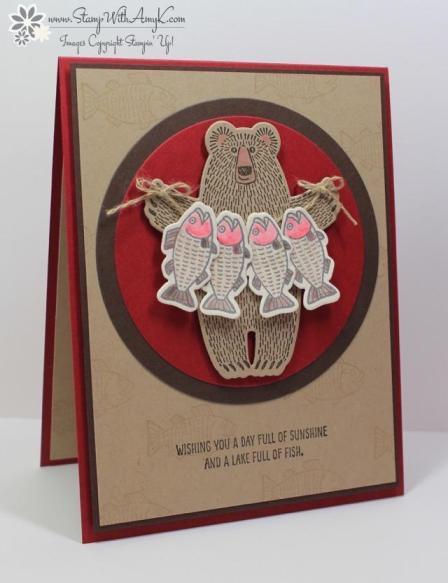 Bear Hugs - Stamp With Amy K