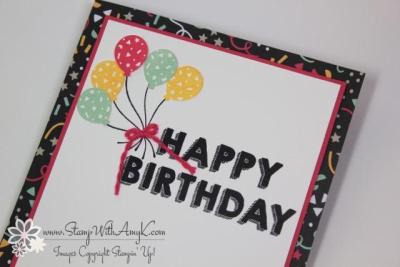 Party Wishes 4 - Stamp With Amy K