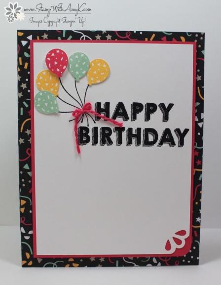 Party Wishes - Stamp With Amy K