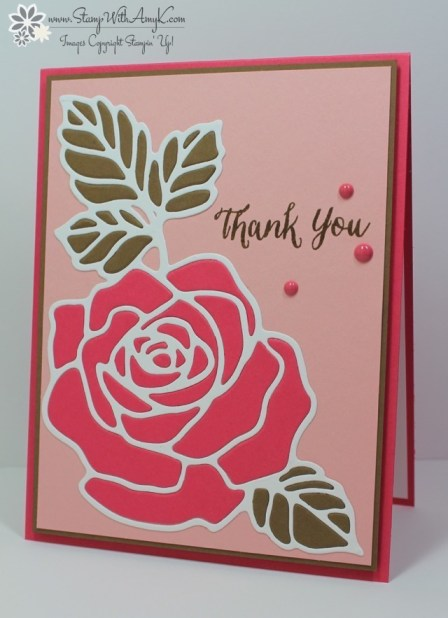 Rose Wonder - Stamp With Amy K